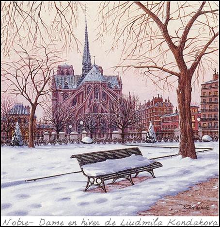 Pierre-Coran-Paris-blanc-Notre-Dame-en-hiver-Liudmila-Konda (1)