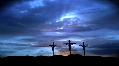 stock-footage-three-crosses-with-dark-clouds