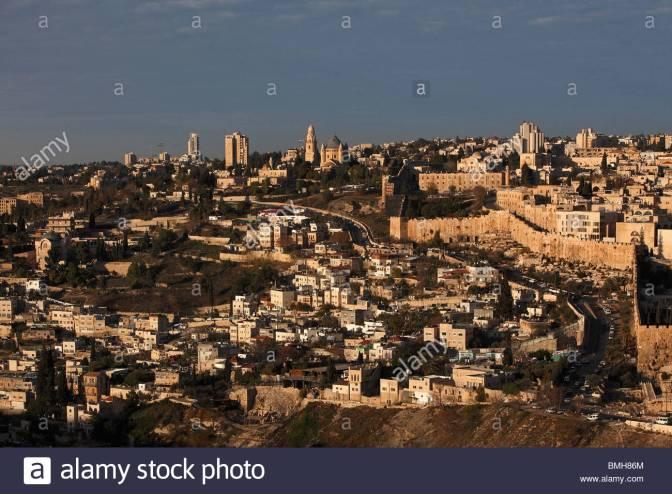 israel-jerusalem-vieille-villemt-sion-leglise-de-la-dormition-bmh86m