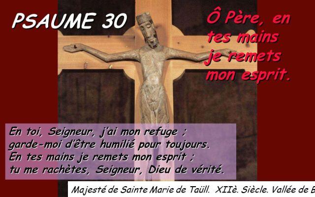 Le Psaume 30 – aufildelapensée