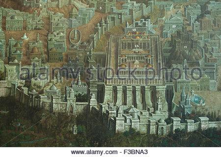 mont-du-temple-avec-le-temple-de-jerusalem-et-dautres-sites-bibliques-a-jerusalem-represente-dans-la-fresque-par-lartiste-tcheque-jan-rehor-1900-dans-le-narthex-de-leglise-de-la-sainte-f