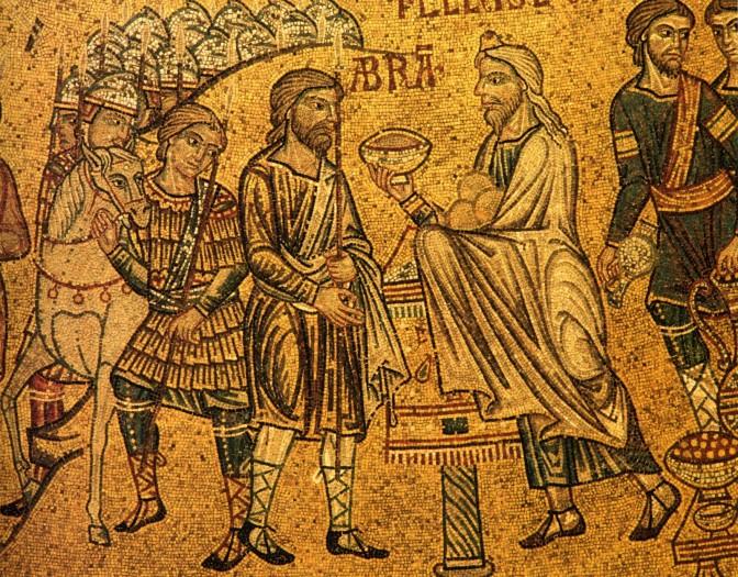 Abraham_meets_Melchisedech_-San_Marco-