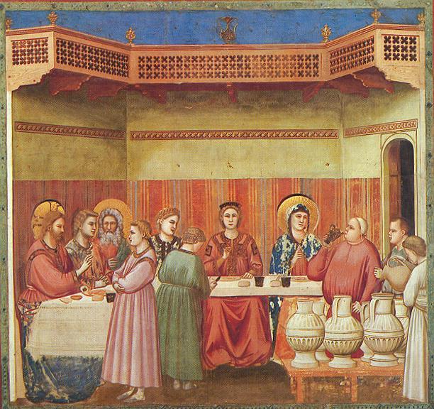 giotto+-+ambrogio+bondone+-+scrovegni+-+[24]+-+marriage+at+cana+