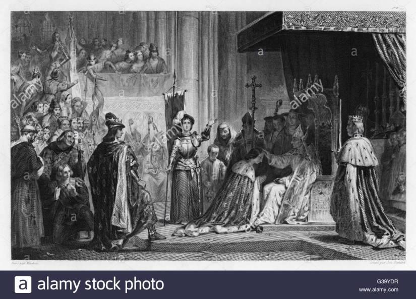 le-sacre-de-charles-vii-charles-est-oint-roi-de-france-a-reims-en-grande-partie-grace-aux-efforts-de-jeanne-darc-qui-detient-une-place-centrale-dans-cette-photo!-date-17-juillet-1429-g