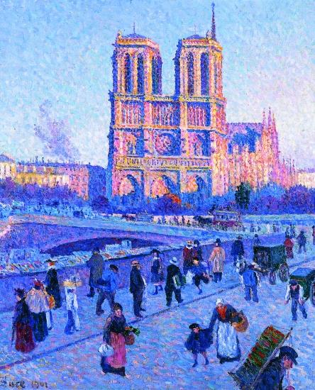 1314066-Maximilien_Luce_le_Quai_Saint-Michel_et_Notre-Dame_en_1901