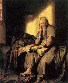 220px-Paul_in_prison_by_Rembrandt (1)