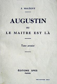 220px-Augustin_ou_Le_Maître_est_là_Malègue