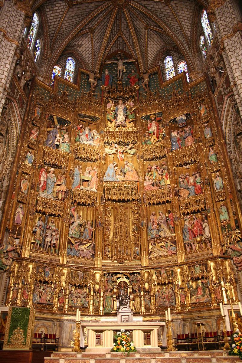 Catedral_Toledo_Retablo