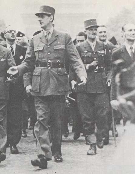ParisDeGaulleLeclerc1944