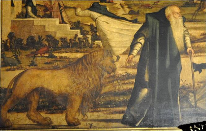 saint-jerome-lion-détail