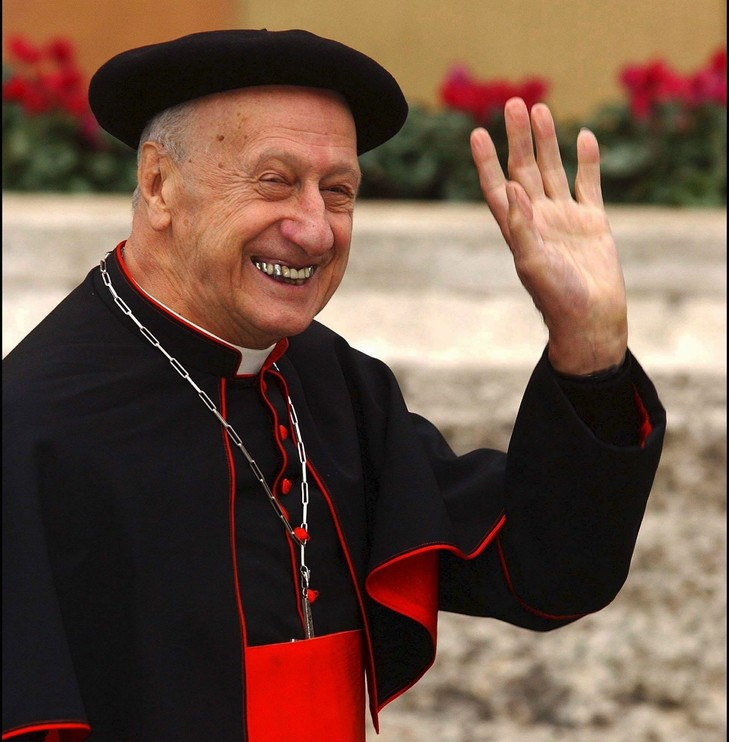 Cardinal Roger Etchegaray (France)