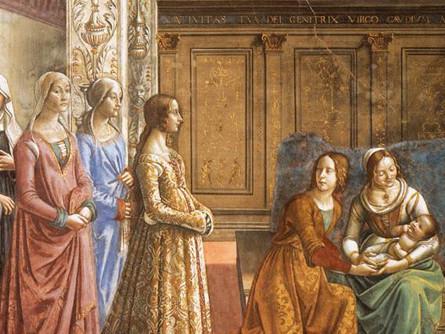 Domenico-Ghirlandaio-1449-1494-Naissance-Vierge-Marie-Chapelle-Tornabuoni-eglise-Santa-Maria-Novella-Florence-Italie-D-R_0_445_334
