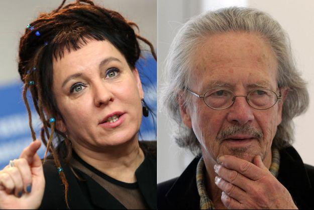 Olga-Tokarczuk-et-Peter-Handke-prix-Nobel-de-litterature-2018-et-2019