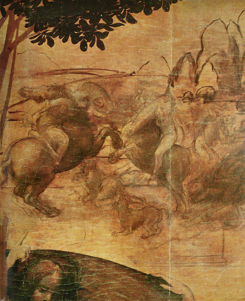800px-Léonard_de_Vinci_-_Adoration_des_mages_2