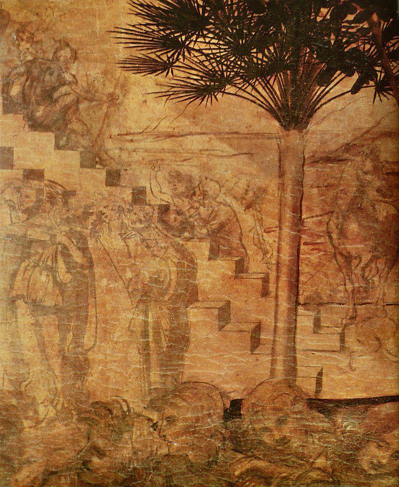 800px-Léonard_de_Vinci_-_Adoration_des_mages_3