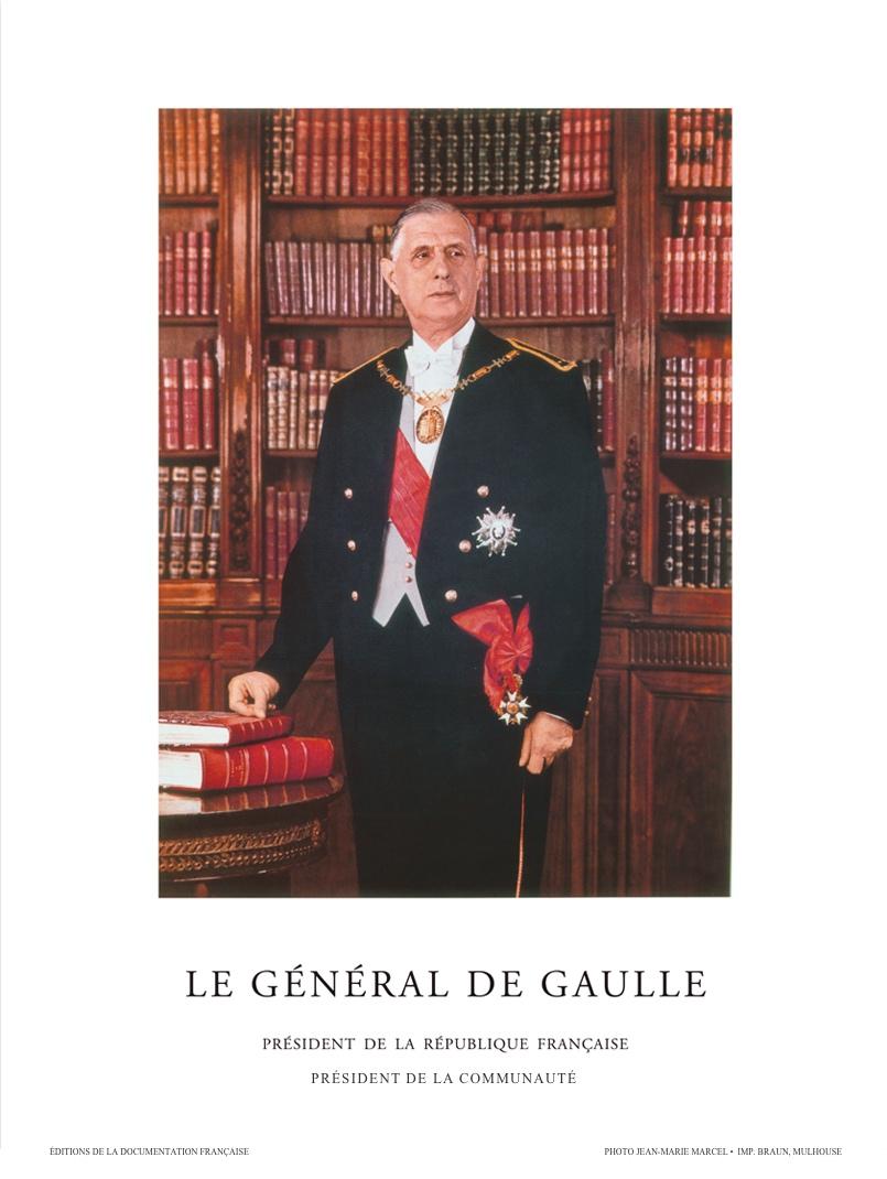 Affiche-originale-du-portrait-officiel-du-général-de-Gaulle-président-de-la-République-1