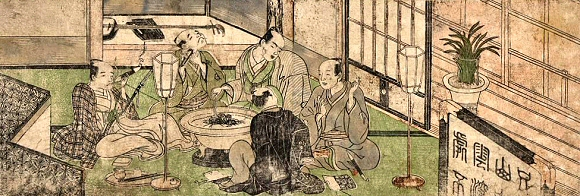 Shunsho-Cinq-Hommes-Hibashi