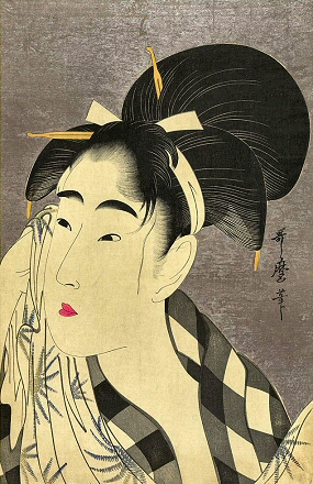 Utamaro-Visage-Femme