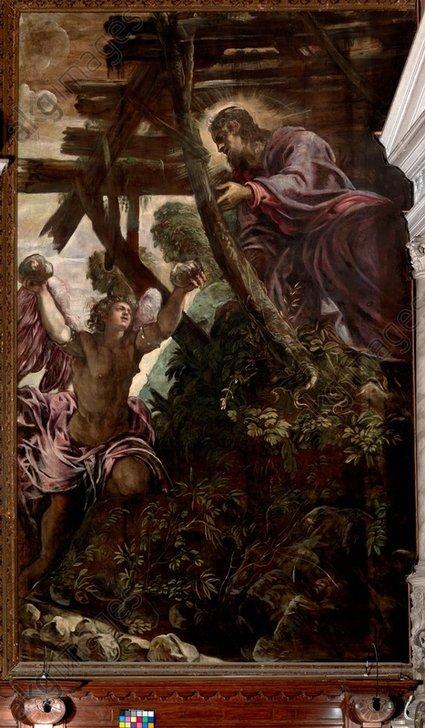 Tintoretto, La tentazione di Cristo, Salone, Scuola Grande di Sa