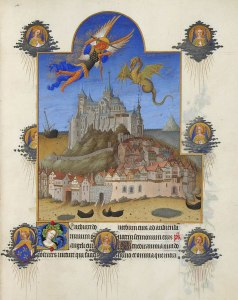 800px-Folio_195r_-_The_Mass_of_Saint_Michael