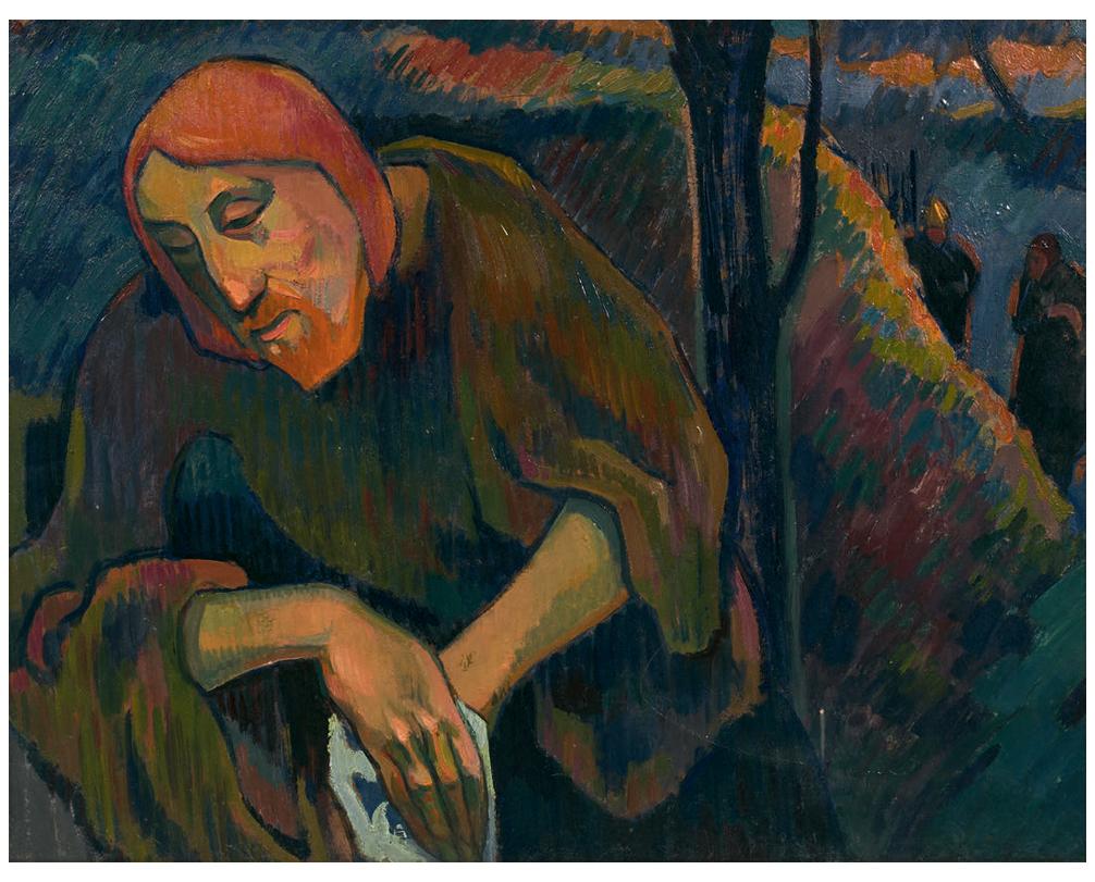 André-Lhote-Le-Christ-au-mont-des-Oliviers-daprès-Gauguin