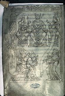 Cartulaire_du_Mont-Saint-Michel_-_BM_Avranches_-_Ms210_f19v_(Privilège_du_pape_Jean_XIII)