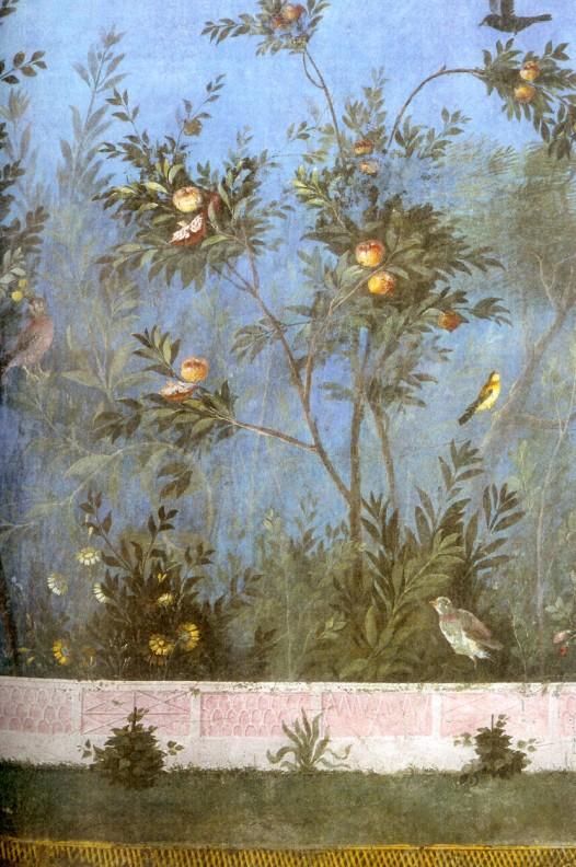 Fresque_de_Pompéi_représentant_un_greandier_et_des_oiseaux