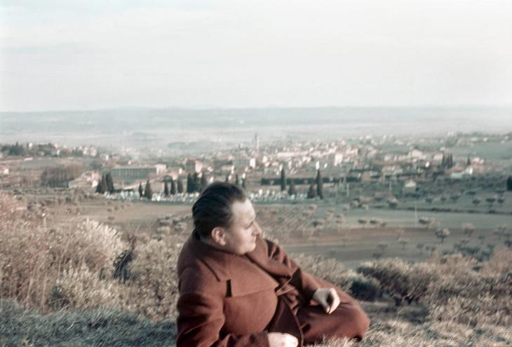 Freund Gisèle (1908-2000). Saint-Germain-la-Blanche-Herbe, IMEC. 406FND68/38.