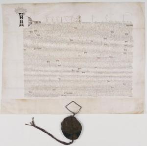 Ratification du Traité de Troyes conclu entre Henri V et Charle