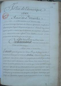 Manuscrit_Ordonnance_mars_1685_sur_esclaves_îles_de_l'Amérique_française_page_1