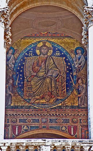 320px-Santa_Maria_Maggiore_(Rome)_mosaic_on_frontside