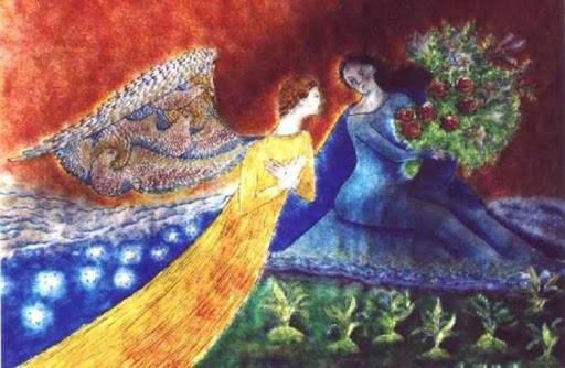 Chagall-Annonciation