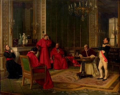 josé-frappa-le-pape-signant-le-concordat-devant-napoléon-ier (1)