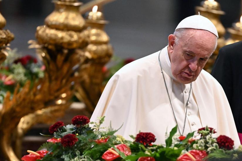 VATICAN-LEBANON-RELIGION-POPE-PRAYER